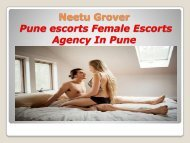 Pune College Girl Escorts Services
