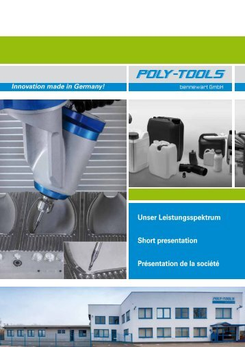 POLY-TOOLS Leistungsspektrum