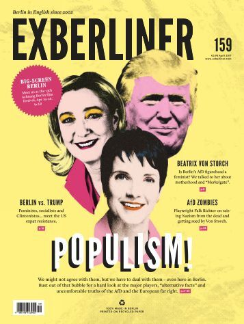 EXBERLINER Issue 159, April 2017