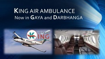 King Air Ambulance Services in Gaya – Fastest Air Medical Transport