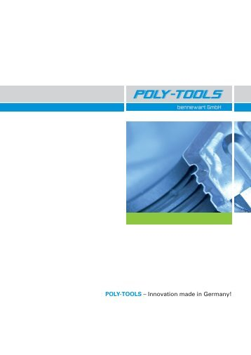 POLY-TOOLS Philosophie