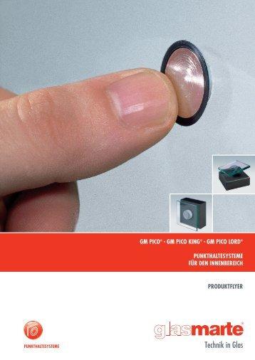 GM PICO, Punkthaltesystem - Produktflyer