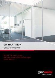 GM MARTITION - Produktfolder