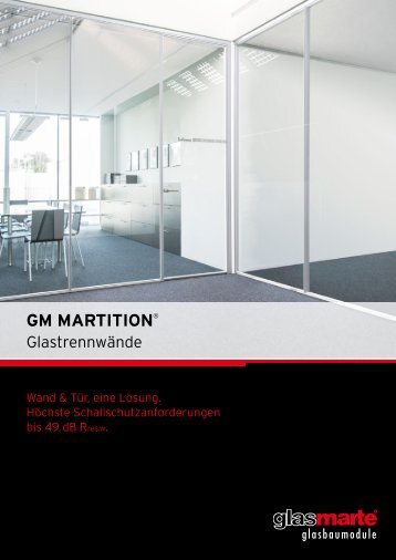GM MARTITION - Produktfolder