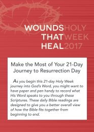 Make the Most of Your 21-Day Journey to Resurrection Day