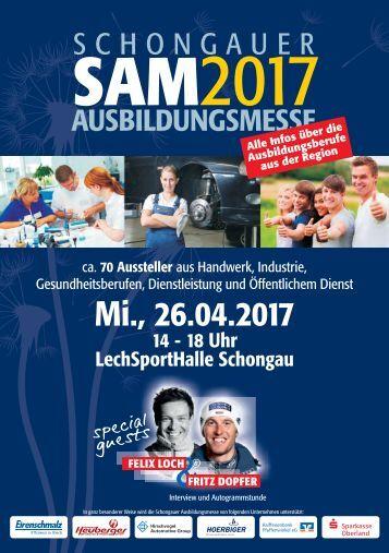 Ausbildungsmesse Schongau SAM2017