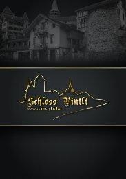 Menu Karte Schloss Pintli Spiez