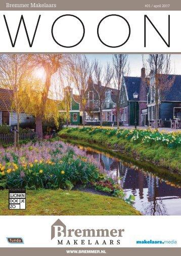 Bremmer Makelaars WOON magazine, april 2017