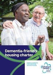 Dementia-friendly housing charter