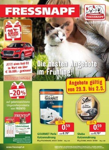 Fressnapf Österreich Angebote April