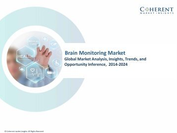 Brain Monitoring Market - Global Industry Insights, Trends and Opportunity Analysis, 2016–2024