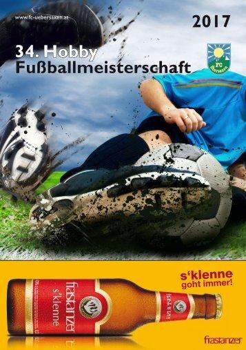34. Hobby Fußballmeisterschaft 2017