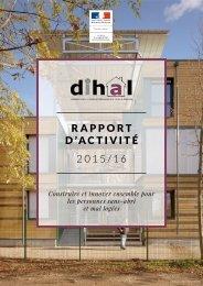 R A P P O R T D'ACTIVITÉ 2015/16
