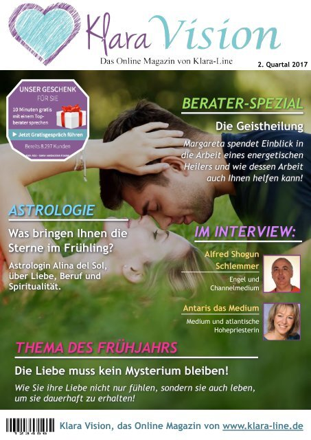 Klara-Vision 2. Quartal 2017