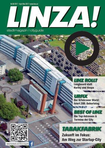 LINZA stadtmagazin Ausgabe#6 – April/Mai 2017
