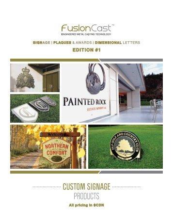 FusionCast Canadian Catalogue 2017