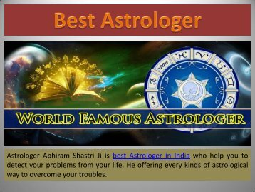 Best Astrologer in India