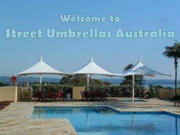 Contrive Architectural Umbrellas at Street Umbrellas Australia