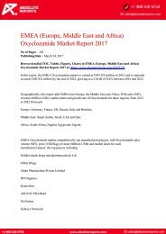 EMEA-Europe-Middle-East-and-Africa-Oxyclozanide-Market-Report-2017