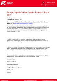Europe-Heparin-Sodium-Market-Research-Report-2017