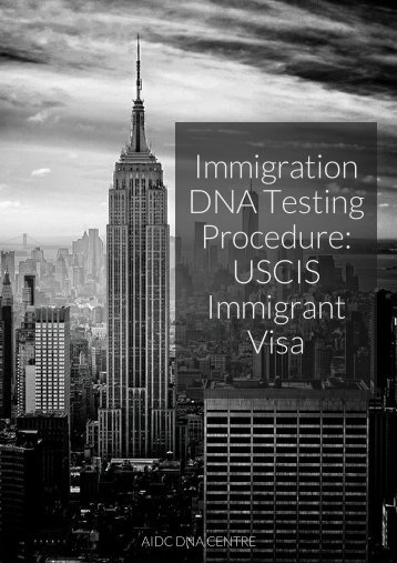 Immigration DNA Testing Process
