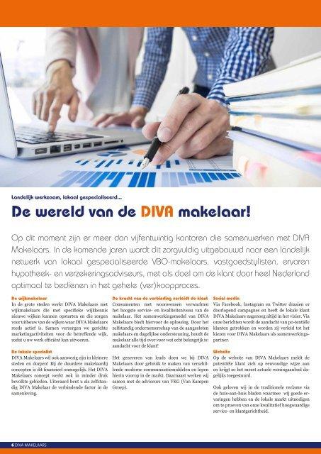 Samenwerken met DIVA Makelaars!