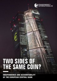 TWO SIDES OF THE SAME COIN?