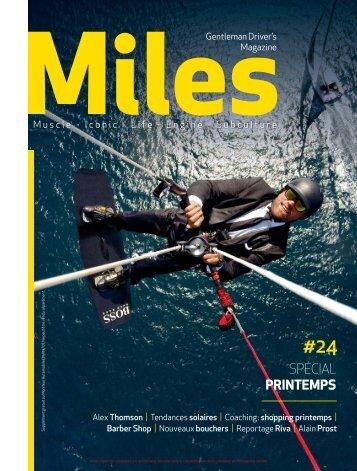Miles #24 Spécial Printemps