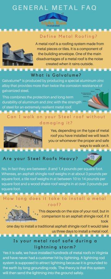 Metal Roofing FAQ - Alpha Rain