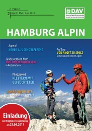 Hamburg Alpin Teaser Ausgabe 02/2017 | April | Mai | Juni
