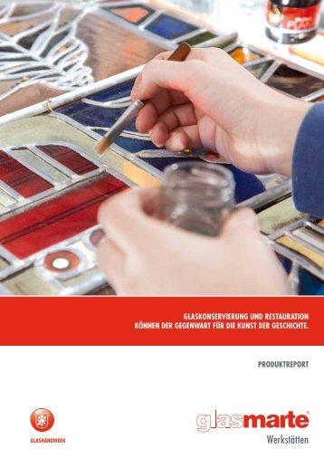Restauration und Glaskonservierung - Infofolder