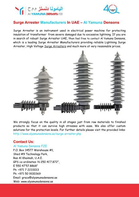 Transformer Manufacturers In Uae