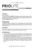 Priolite Lichtformer Bedienungsanleitung  - Page 4