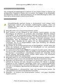 Priolite MBX 500 Hot Sync Bedienungsanleitung  - Page 6