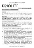 Priolite Lichtformer Premium Bedienungsanleitung - Page 2