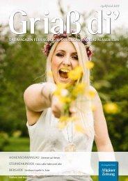 Griaß di' Magazin für das südliche Ostallgäu und das Außerfern