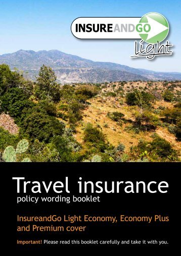 Beth Insurance Policy wording booklet 210317