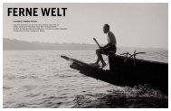 Ferne WeLT - Galerie Hilaneh von Kories