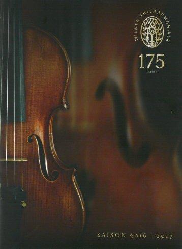 Philharmonic Diary