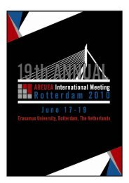 Conference Program at a Glance - American Real Estate and Urban ...