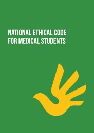 Ethical Code for Medical Students