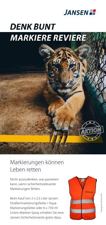 Jansen Markierungsfarbe 01.04. - 31.05.2017