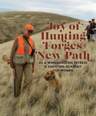 Joy of Hunting Forges a New Path