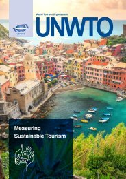 Measuring Sustainable Tourism