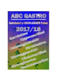 ABC Gastro Katalog  2017  Wolfgang Zahn