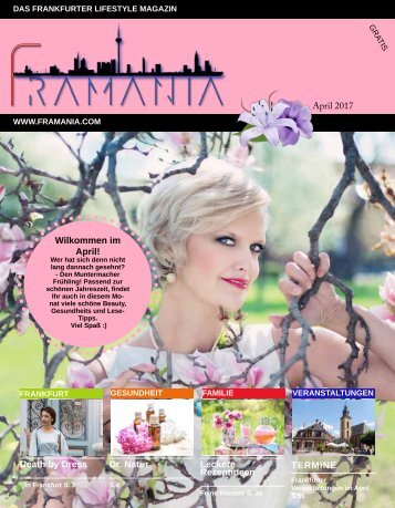 Framania Magazin Ausgabe April  2017