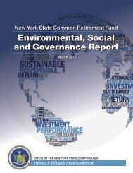 Environmental Social and Governance Report