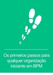 Os primeiros passos para qualquer organização iniciante em BPM