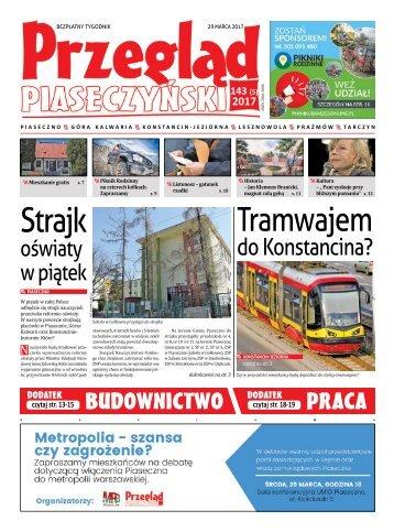 Przegląd Piaseczyński, Wydanie 143