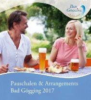 Bad Gögging: Pauschalen und Arrangements 2017